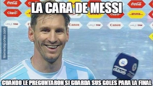 messi rie
