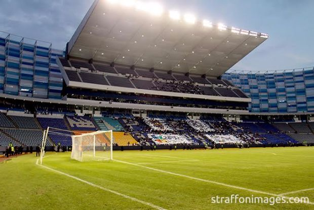 PUEBLA, PUE, MEXICO. NOVEMBER 18th: Aspect during the friendly match between Puebla and Boca Juniors as reopening of the stadium Cuauhtemoc, held at Cuauhtemoc stadium, in Puebla city, Puebla, Mexico.(PHOTO BY STRAFFON IMAGES/AGENCIA 2.8/VICTOR CRUZ/MANDATORY CREDIT/EDITORIAL USER/NOT FOR SALE/NOT ARCHIVE)